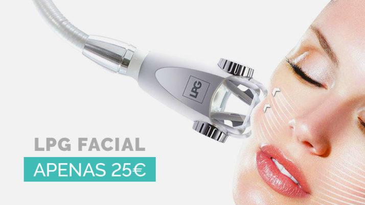 Revolucionário tratamento LPG Facial = 25€