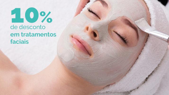 – 10% em todos os tratamentos faciais!